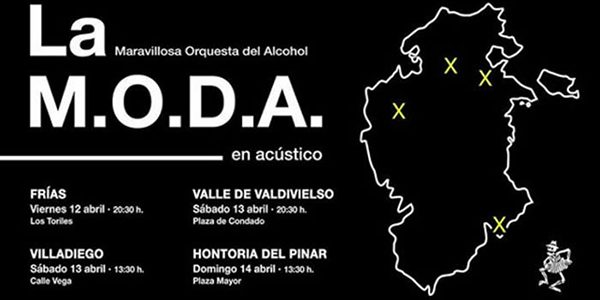 La M.O.D.A en Villadiego
